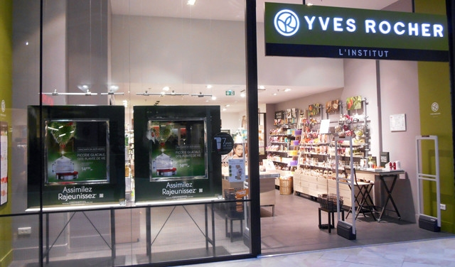 Magasin yves rocher rennes