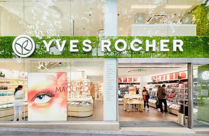 Magasin yves rocher paris ch elysees nature s